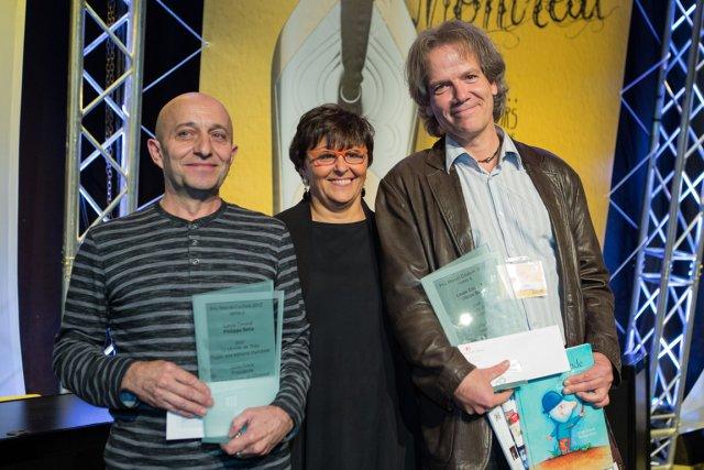 De gauche à droite, Philippe Béha, Gilda Routy... (Photo Édouard-Plante Fréchette, La Presse)