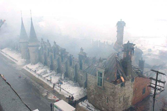 Lourdement endommagé par un incendie en avril 2008,... (Photothèque Le Soleil, Steve Deschênes)