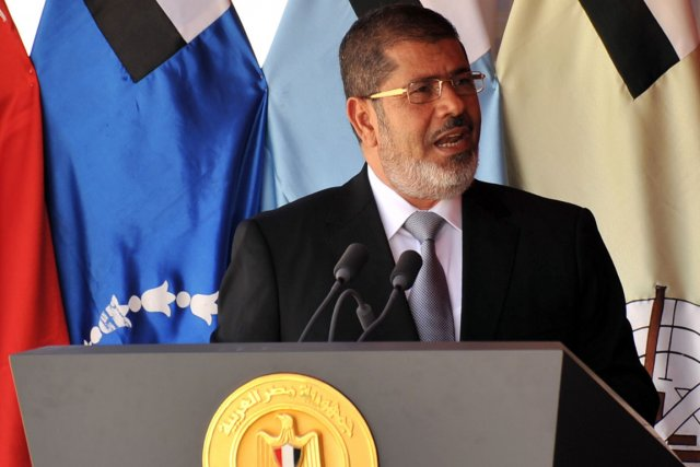 Mohamed Morsi... (Photo AFP)