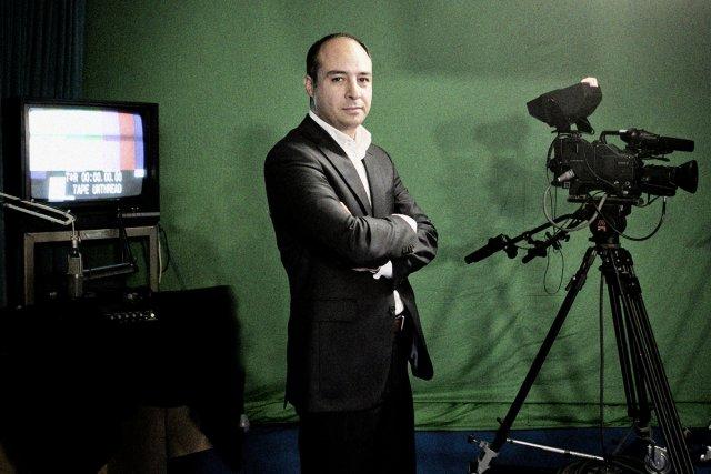 Sam Norouzi, vice-président de la boîte de production... (Photo: Marco Campanozzi, La Presse)