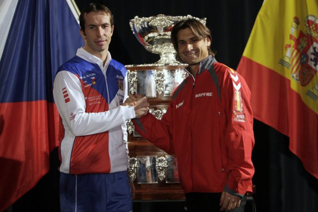 Radek Stepanek, de la République tchèque, et David... (Photo: Reuters)