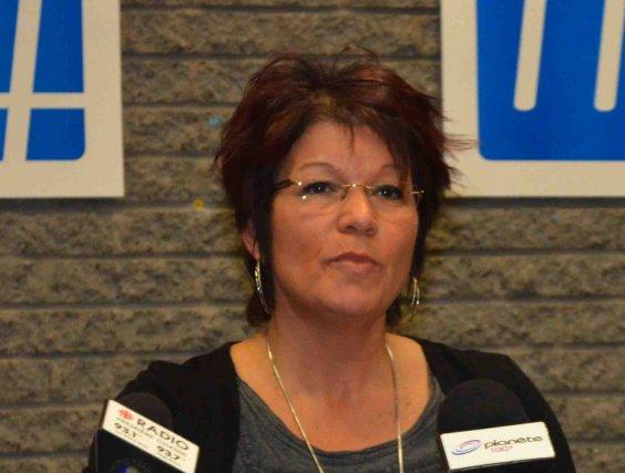 Pauline Paradis est présidente du Syndicat des professioinnels... (Photo Louis Potvin)