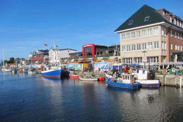 Très coloré et particulièrement fréquenté, le vieux port... (Diane Champagne, collaboration spéciale)