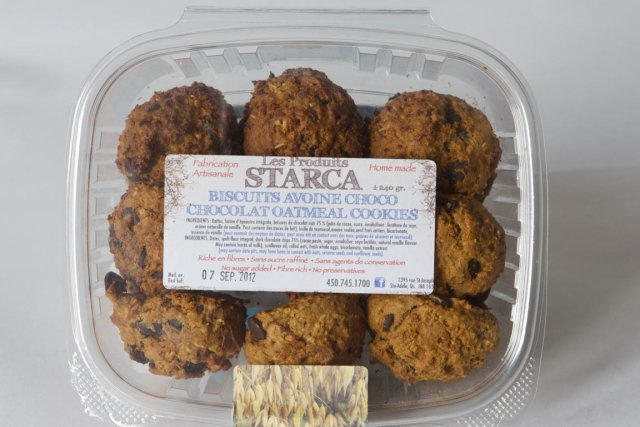 Les biscuits Starca avoine-choco... (Photo La Presse)