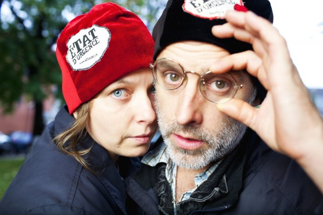 Annie Roy et Pierre Allard, de l'Action terroriste... (Photo: Martin Savoie, fournie par l'ATSA)