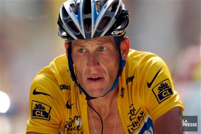 Lance Armstrong... (Photo archives)
