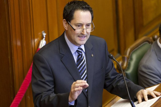 Michael Applebaum n'est pas tant un maire en... (Photo David Boily, La Presse)