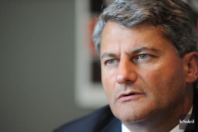 Gérard Deltell ne reproche pas au gouvernement Marois,... (Photo Steve Deschenes, Le Soleil)