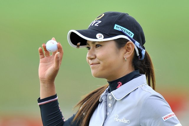 Ai Miyazato... (PHOTO JUNG YEON-JE, ARCHIVES AFP)