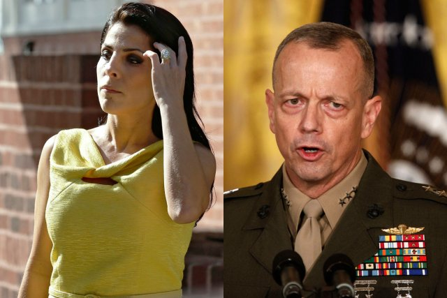 Jill Kelley et David Petraeus... (Photos Reuters)