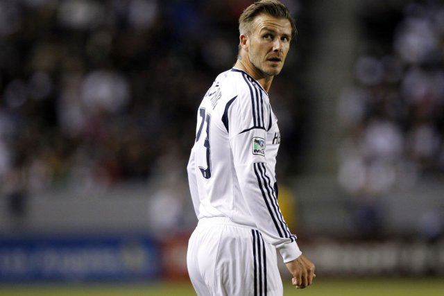 David Beckham du Galaxy de Los Angeles.... (Photo Alex Gallardo, Reuters)