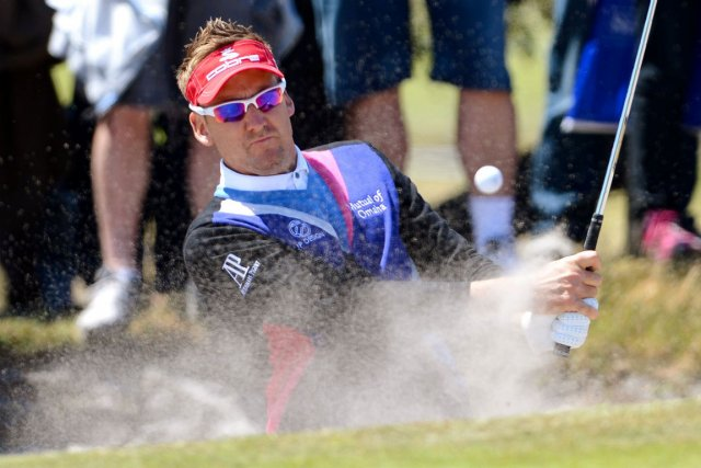 Ian Poulter... (Photo William West, Agence France-Presse)