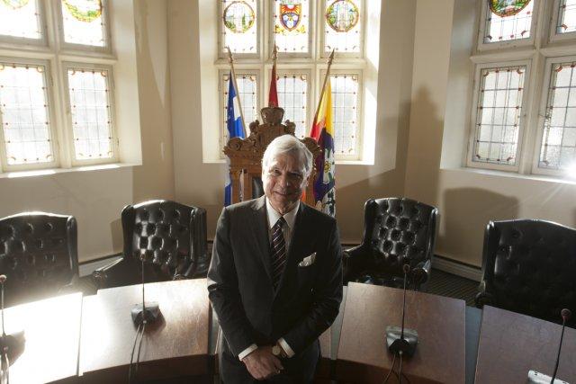 Le maire de Westmount, Peter Trent... (Photo François Roy, La Presse)