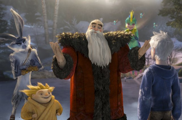Le père Noël, la fée des dents, le marchand de sable, le lapin de Pâques  et un... (Photo fournie par la production.)