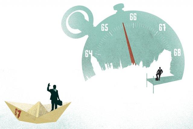 En évoquant pour la première fois récemment l'idée de hausser l'âge de  la... (Illustration Le Soleil, Alain Chouinard)