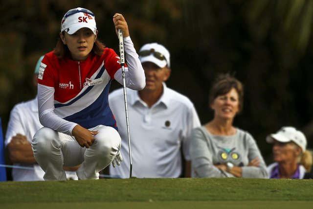 Na Yeon Choi... (PHOTO WILLIAM DESHAZER, NAPLES DAILY NEWS)