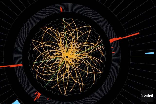 Insaisissable, car extrêmement instable, le boson de Higgs... (Photothèque Le Soleil)