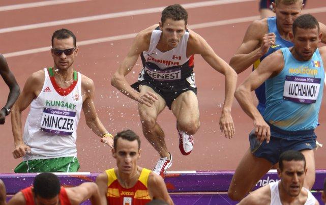 Alex Genest a terminé 17e lors des derniers... (Bernard Brault, La Presse)