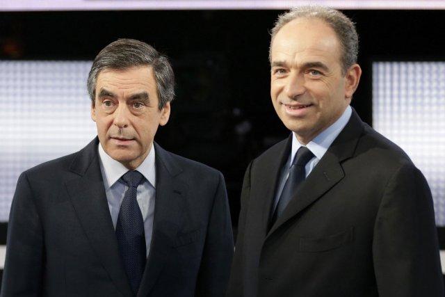 François Fillon et Jean-François Copé... (Photo Philippe Wojazer, Reuters)
