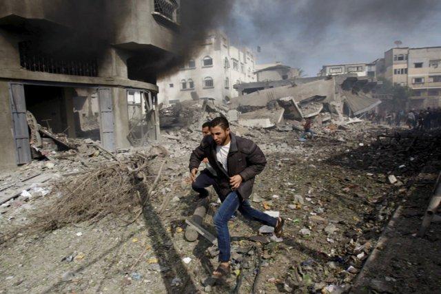 Depuis le déclenchement mercredi de l'offensive israélienne, 78... (Photo: AP)
