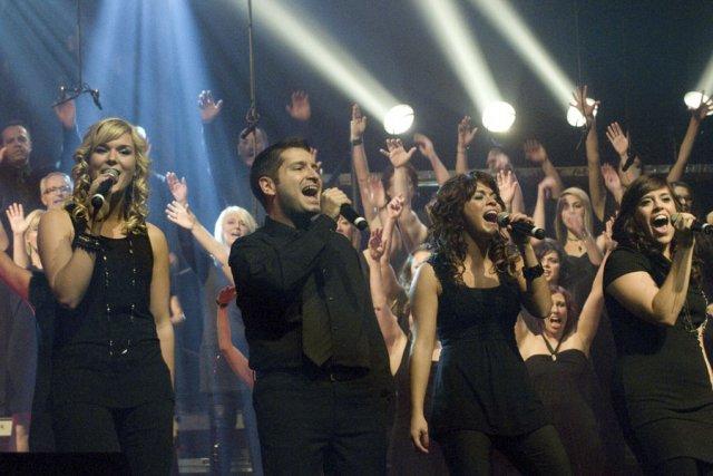 Musicophonie a attiré bon nombre de spectateurs au... (photo Stéphanie Mantha)