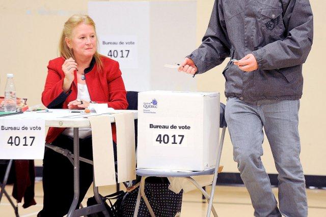 Sur 13 343 électeurs inscrits dans ce district... (Photo Le Soleil, Erick Labbé)