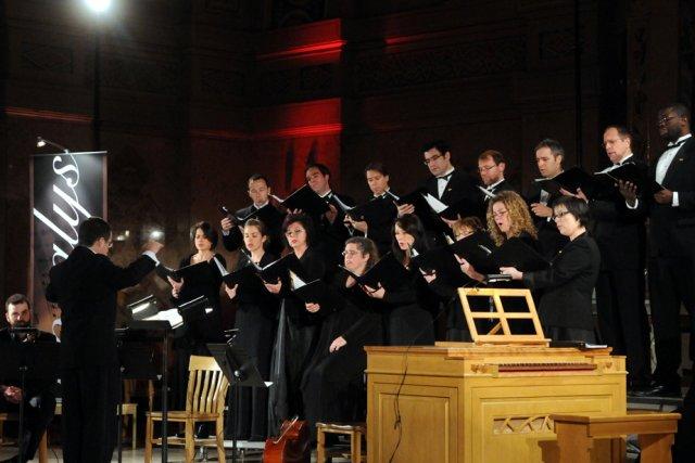 Le choeur Vocalys, sous la direction de Raymond... (Photo: François Gervais)