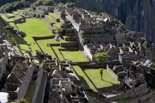 Le fameux Machu Picchu.... (PHOTO ARCHIVES RELAXNEWS)