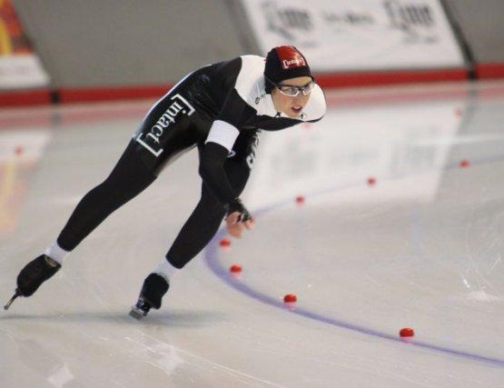 La patineuse de vitesse d'Ottawa, Ivanie Blondin, a... (Archives, LeDroit)