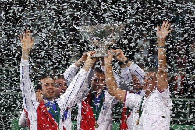 La République tchèque a battu l'Espagne 3-2 pour... (Photo: Reuters)