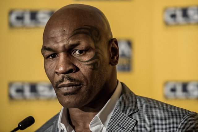 Mike Tyson... (Photo: AFP)
