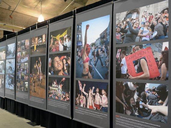 Depuis 25 ans, le collectif Agence Stock Photos nous fait voir le monde de par... (Photo Michel Tremblay)