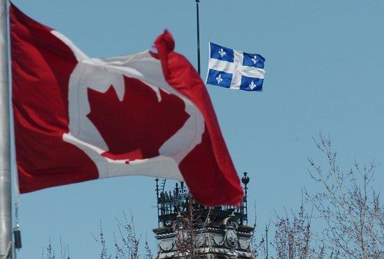 Les fédéralistes croient que l'avenir du Québec ne... (Photothèque Le Soleil)