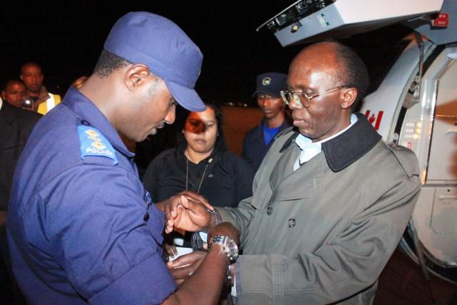 Le Rwandais Léon Mugesera a été extradé vers... (PHOTO STEVE TERRILL, ARCHIVES AFP)