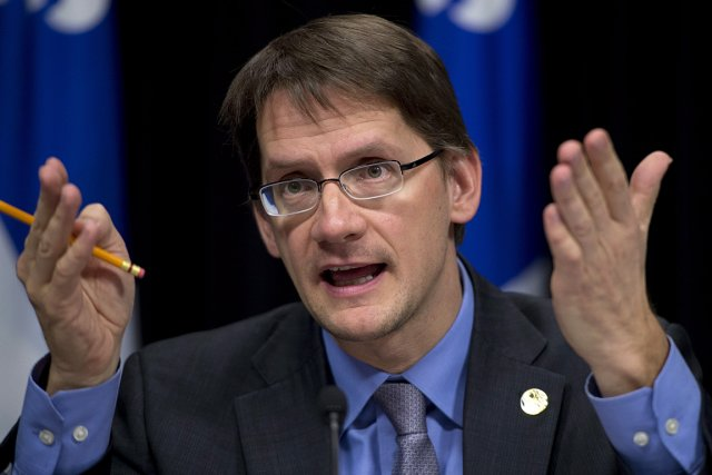 Sylvain Gaudreault, ministre des Transports, des Affaires municipales,... (Photo: PC)