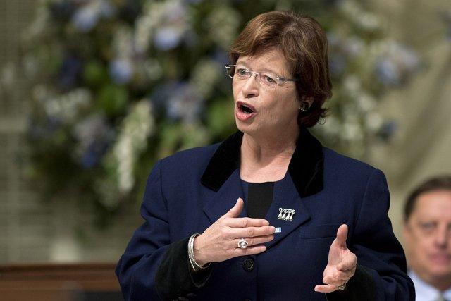La ministre québécoise de l'Éducation, Marie Malavoy.... (Photo: PC)