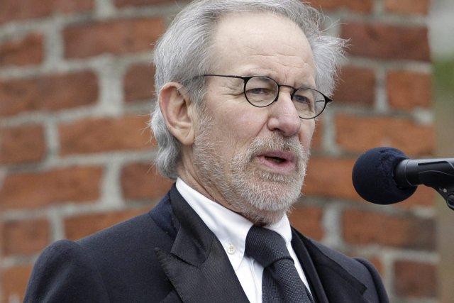Steven Spielberg prononçait le discours d'ouverture de la... (Photo: AP)