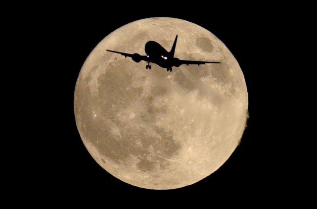 Pleine lune... (Photothèque Le Soleil)