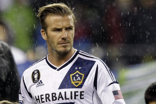 David Beckham... (Photo Associated Press)
