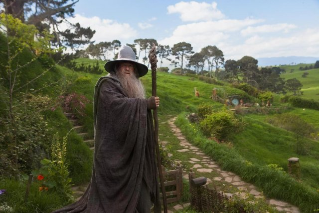 Une scène de The Hobbit : An Unexpected Journey.... (Photo: fournie par Warner Bros.)