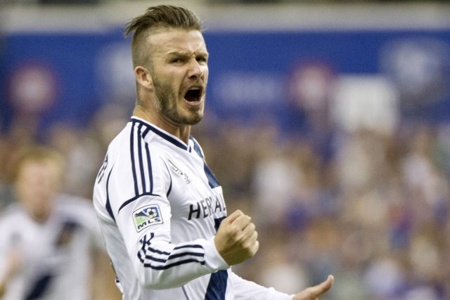 David Beckham... (Photo: PC)