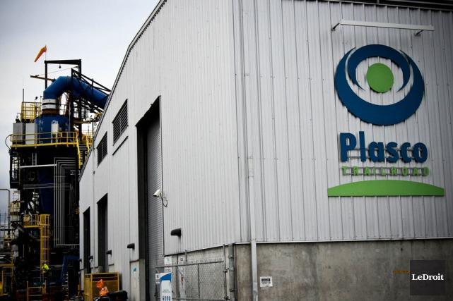 La Ville d'Ottawa et l'entreprise Plasco Energy Group... (Étienne Ranger, LeDroit)