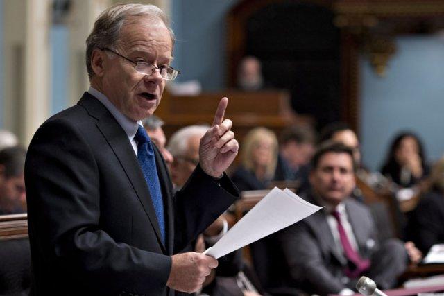 Raymond Bachand, ex-ministre libéral des Finances, n'a pas... (Photo: PC)