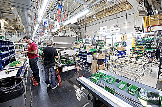 La productivité devrait être améliorée au Québec pour... (Photothèque Le Soleil, Erick Labbé)