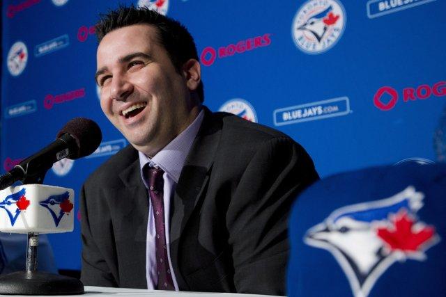 Le Montréalais Alex Anthopoulos, directeur général des Blue... (Photo: PC)