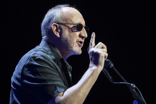 Pete Townshend... (Photo: Olivier Pontbriand, La Presse)