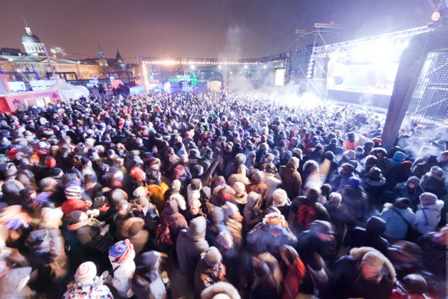 Fort de son succès l'an dernier (70 000 festivaliers), Igloofest ajoute un... (Photo: Édouard Plante-Fréchette, La Presse)