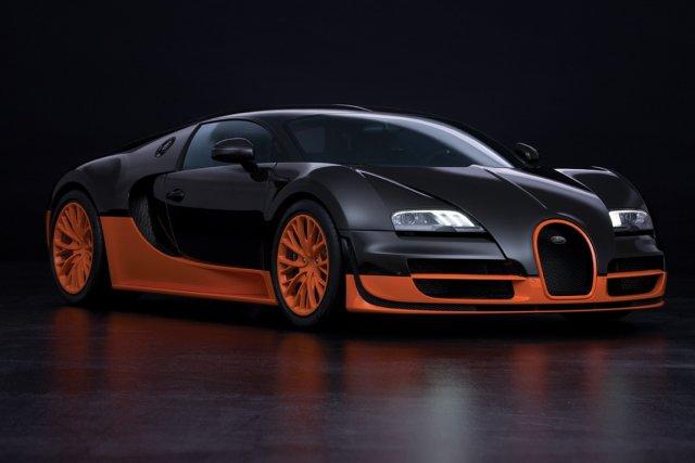 Bugatti Veyron 16.4 Super Sport... (PHOTO FOURNIE PAR BUGATTI)