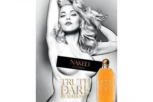 Seulement sept mois après le lancement de sa première fragranceTruth or... (PHOTO FOURNIE PAR MADONNA WORLD)