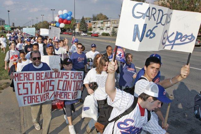 En 2004, lorsque seulement quelques centaines de personnes... (Photo: André Pichette, archives La Presse)